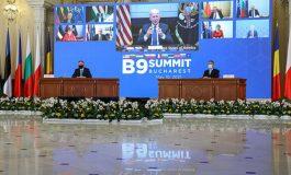 """""""Potępiamy rosyjskie akty sabotażu"""". Wspólna deklaracja państw Europy Środkowej na szczycie w Bukareszcie z udziałem prezydenta USA i szefa NATO"""
