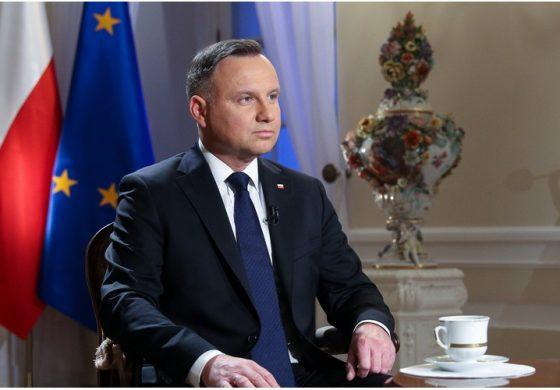 """Prezydent Polski udzielił wywiadu izraelskiej telewizji. """"Prezydent Putin z całą pewnością świadomie rozpowszechnia kłamstwa historyczne"""""""