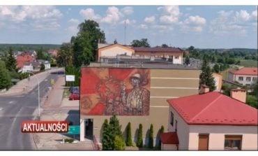 W Lubaczowie odsłonięto mural poświęcony 39. Pułkowi Strzelców Lwowskich