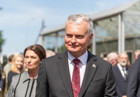 Prezydent Litwy w Miednikach: wyzwaniem jest reżim w Mińsku, a nie migranci