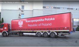 Polska pomoc dla Ukrainy w walce z pandemią (NASZ FILM)