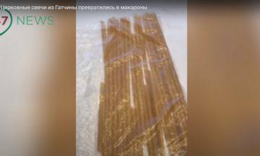 Rosja: W cerkwi zamiast świec sprzedano makaron (WIDEO)