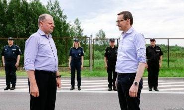 """Uroczyste otwarcie granicy polsko-litewskiej. ,,Bądźmy razem także w przyszłości"""""""
