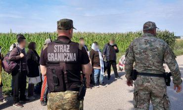 W sierpniu 2021 - ok. 3500 prób nielegalnego przekroczenia granicy Polski od strony Białorusi. W sierpniu 2020 - żadnej
