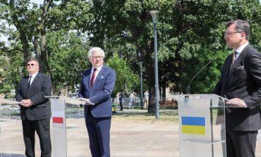 Oto wspólna deklaracja Polski, Litwy i Ukrainy w sprawie ustanowienia Trójkąta Lubelskiego