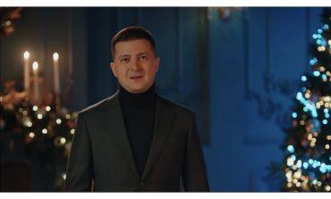 Prezydent Ukrainy złożył Bożonarodzeniowe życzenia chrześcijanom obrządku zachodniego (WIDEO)