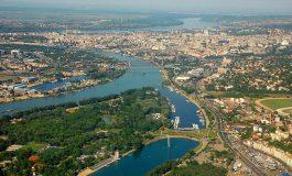 Antysmogowy protest w Belgradzie