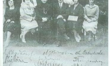 Bal maturalny w Brześciu - rok 1933