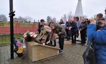 Polacy z Brześcia w hołdzie Żołnierzom Wyklętym