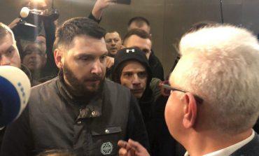 Narodowa Platforma Pojednania nie przypadła do gustu weteranom z Donbasu. Jej prezentacja w Kijowie zakończyła się awanturą i obelgami