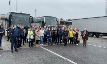 Słoweńscy pogranicznicy zatrzymali autobus z Ukraińcami wracającymi z Włoch do kraju. Rząd ukraiński wyśle po nich samolot