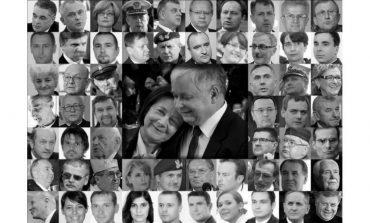 Ukraińscy dyplomaci oddają hołd ofiarom katastrofy lotniczej pod Smoleńskiem