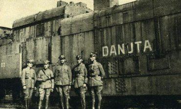 Pociągi pancerne biorące udział w walkach o Brześć podczas wojny polsko-bolszewickiej 1920 roku