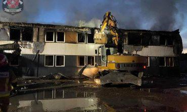 Pożar hotelu pracowniczego z Pogorzycach. Mieszkali w nim również pracownicy z Ukrainy