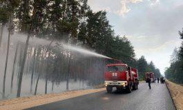 Pożary lasów w obwodzie ługańskim. Wzrosła liczba ofiar, w ich gaszeniu uczestniczy już ponad tysiąc strażaków