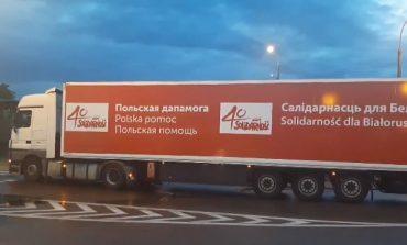 """Białoruś nie wpuściła konwoju z pomocą humanitarną od polskiej """"Solidarności"""""""