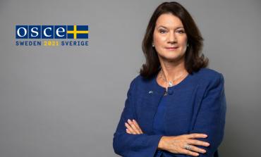 Szwecja objęła przewodnictwo w OBWE: jej priorytetami zakończenie wojen w Donbasie i Górskim Karabachu oraz konfliktu politycznego na Białorusi
