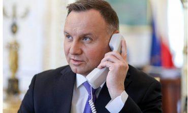 Prezydent Polski potępił represje na Białorusi