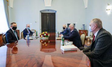Prezydent Andrzej Duda spotkał się z przedstawicielami mniejszości białoruskiej