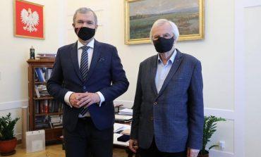 B. ambasador Białorusi w Polsce z wizytą w Sejmie