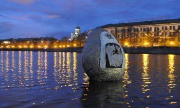 W Jekaterynburgu artysta przygotował jajko z wizerunkiem partiarchy