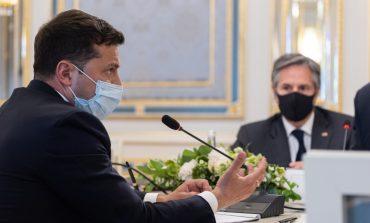 Kancelaria prezydenta Ukrainy: wizyta sekretarza stanu USA w Kijowie świadczy o systemowej współpracy i wsparciu Ukrainy przez USA