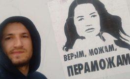 Bębniarza z mińskich marszów skazano na 6 lat łagrów
