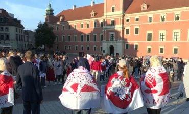 Warszawa, Sopot i Białystok solidarne z uwięzionymi Polakami z Białorusi (WIDEO)