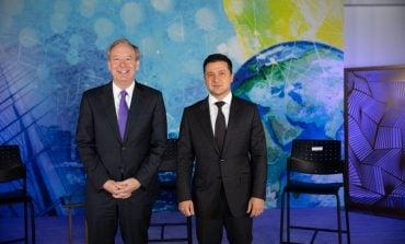 Prezydent Zełenski spotkał się w Nowym Jorku z dyrektorem Microsoftu